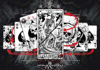 Ace of Spades Alchemy Officialfotobehang