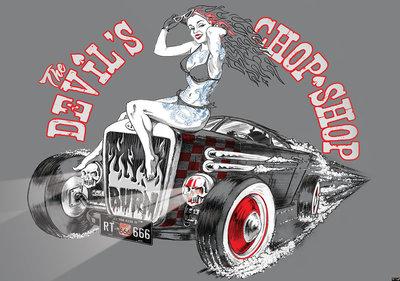 Devils Chop Shop Alchemy Official fotobehang