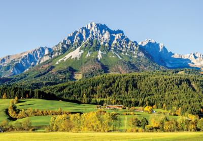 Berg Oostenrijk fotobehang