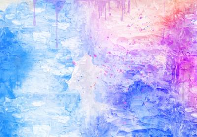 Abstract fotobehang Aquarel