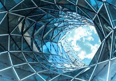 Grafisch ontwerp fotobehang Frankfurt