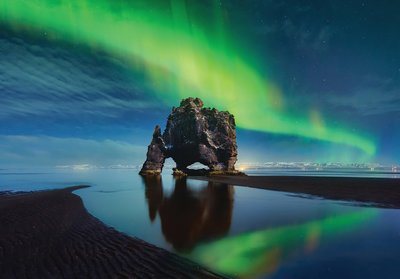Noorderlicht fotobehang